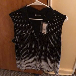 Beautiful 7th Ave., New York and company blouse